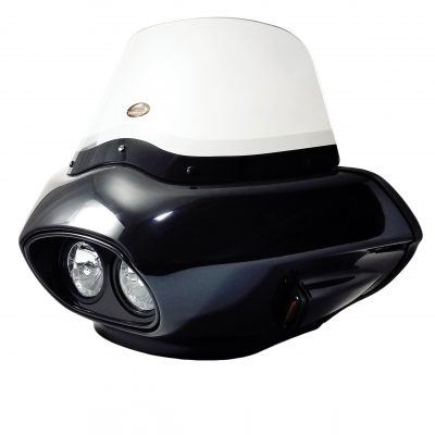 touring style fairing with dual headlight