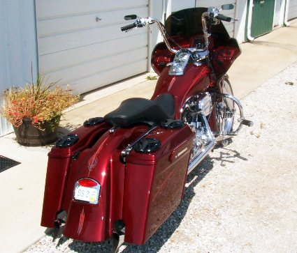 Dyna Wide Glide with fairing