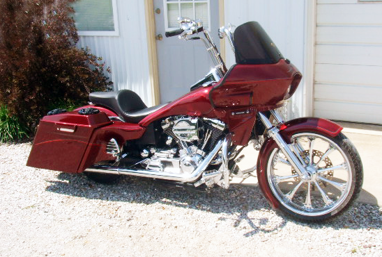 1999 Dyna Wide Glide with fairing