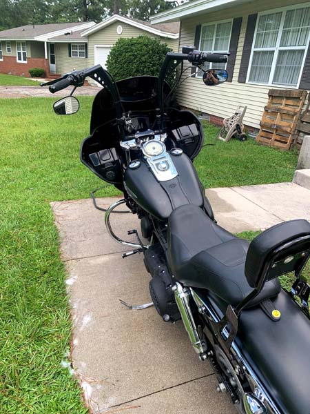 Dyna with fixed Fairing