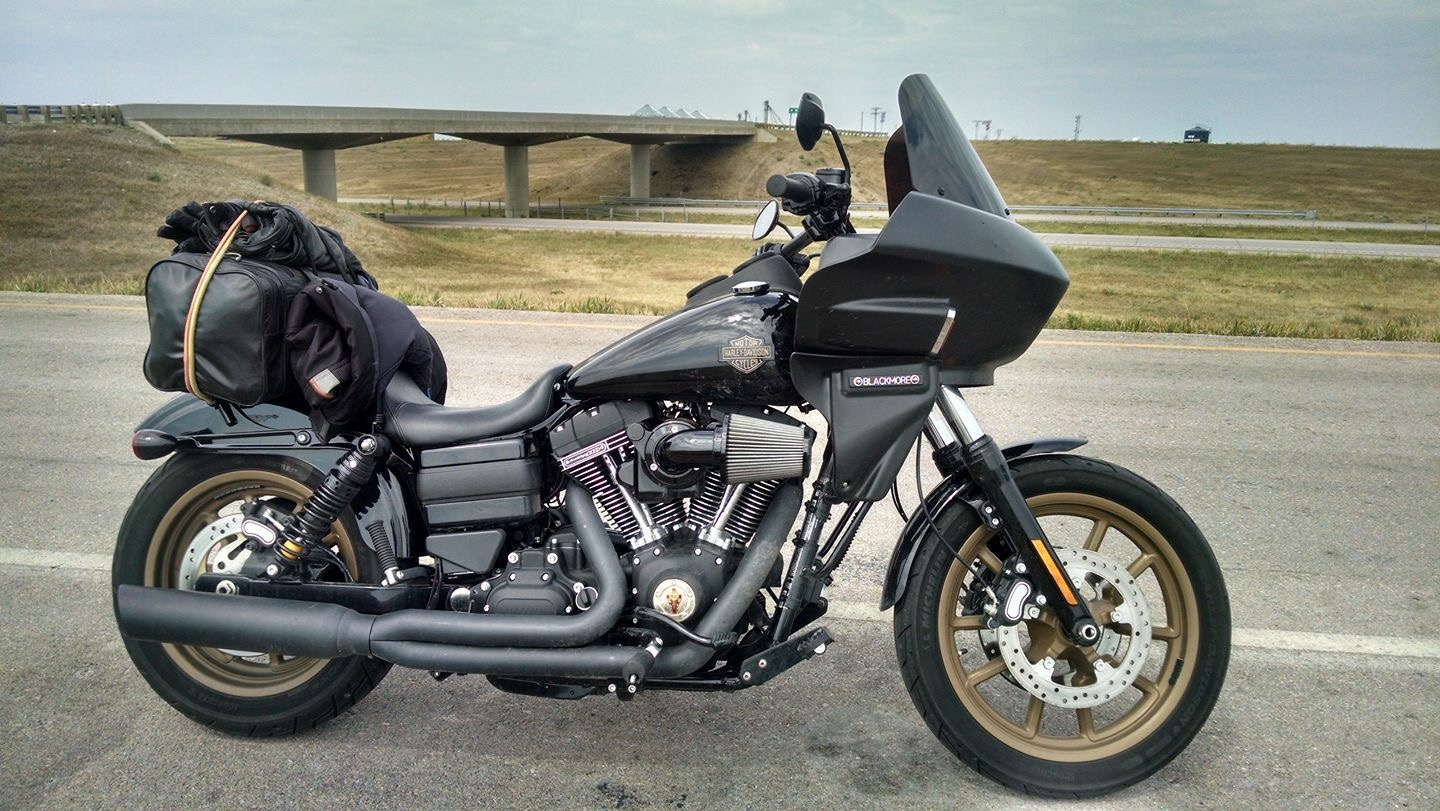 Dyna Lowrider with Fairing
