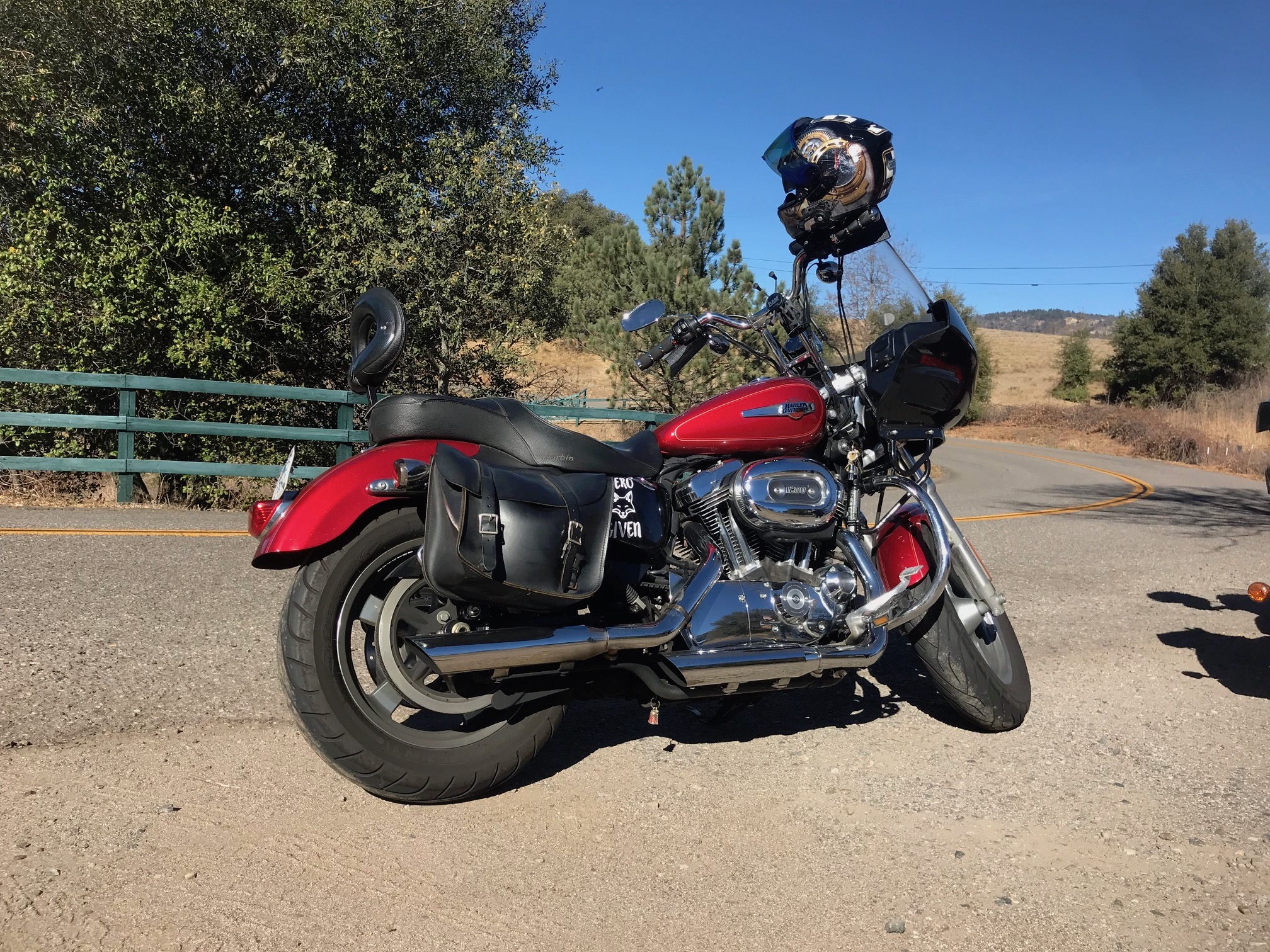sportster with a fairing