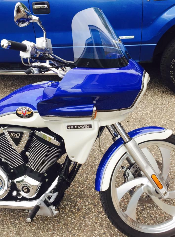 victory motorcycle fairing | Wedge Fairing