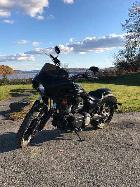 Victory Vegas with Frame Mounted Fairing