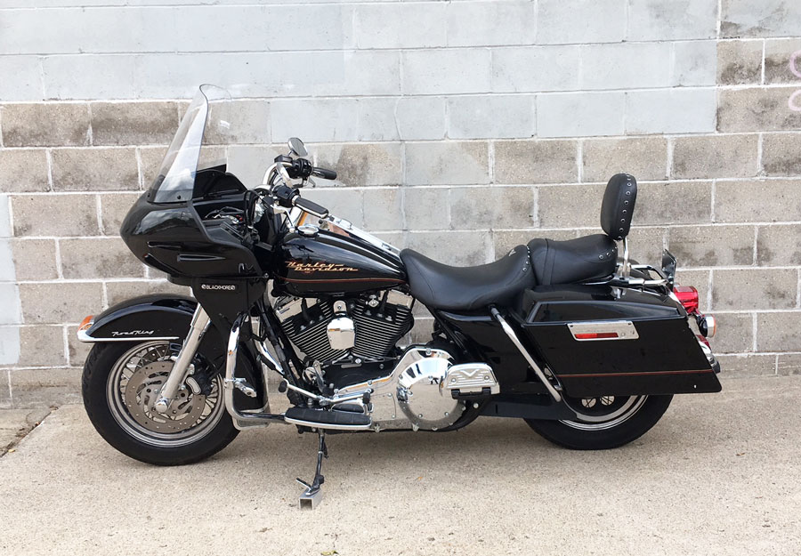 road king with fairing